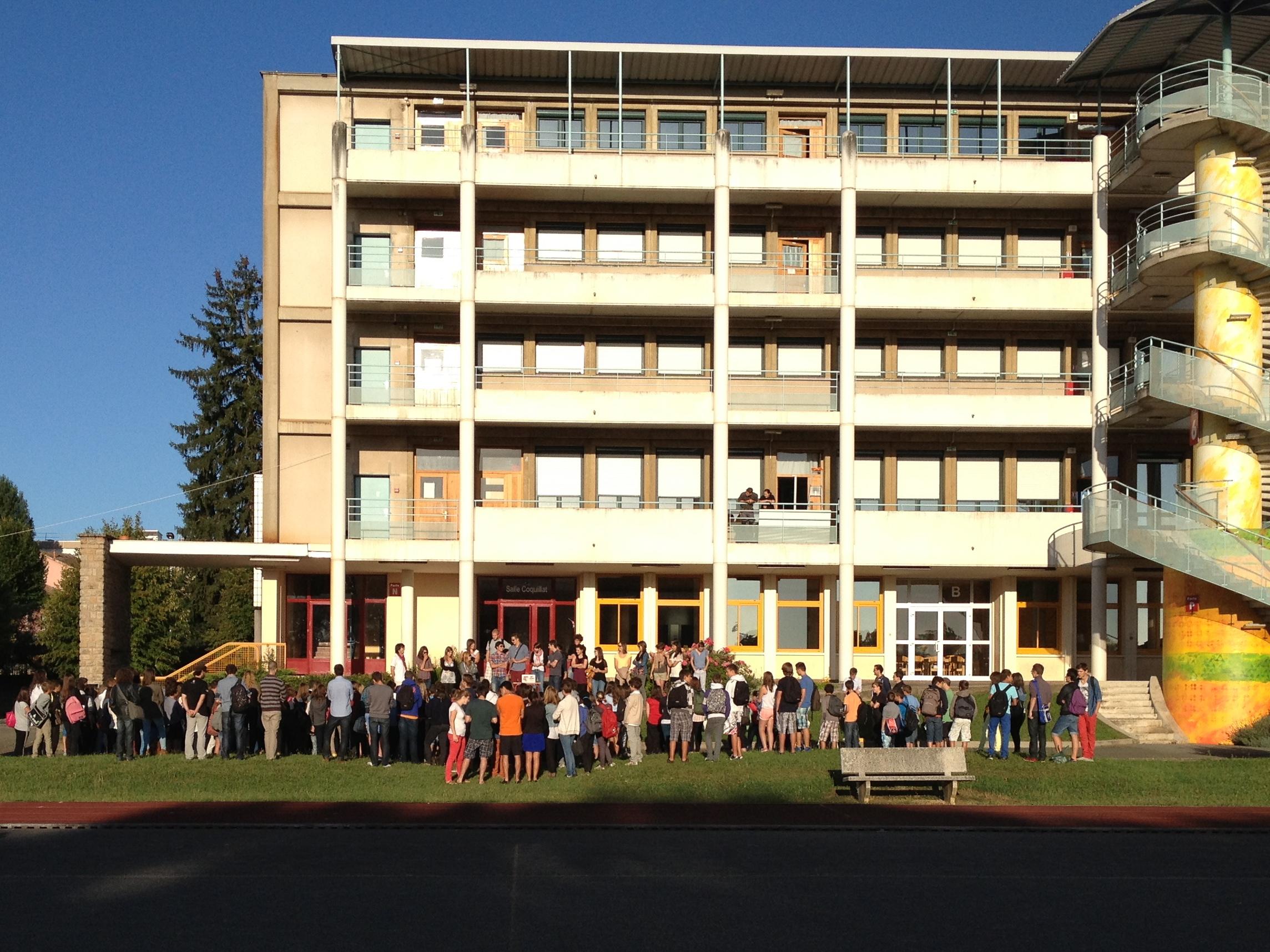 Ouverture de la dernière semaine de Se² 2013 au lycée Lamartine